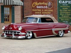 1954 Chevy Custom Leather Interior. Interiors by Shannon (Upholstery)