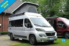 The new Columbus 540 is the first Ducato with a pitched roof.  (Photo: jn)