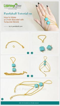 Turquoise beads jewelry is always personalized, you can make many ethnic jewelry crafts with turquoise beads.