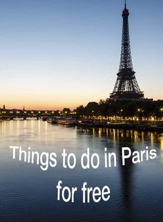 See the city of Paris on a budget! There are plenty of things that students can do for FREE!