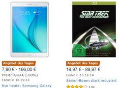 """Amazon: Samsung-Tablets und Zubehör zu Schnäppchenpreisen https://www.discountfan.de/artikel/tablets_und_handys/amazon-samsung-tablets-und-zubehoer-zu-schnaeppchenpreisen.php Im Rahmen einer """"Herbst-Angebote-Woche"""" sind jetzt bei Amazon Samsung-Tablets und -Zubehör zu Preisen ab 7,99 Euro zu haben. Das Samsung Galaxy Tab A T550N mit 16 GByte gibt es zum Bestpreis von 166 Euro frei Haus. Amazon: Samsung-Tablets und Zubehör zu Schnäppchenpreisen (Bild: Am..."""