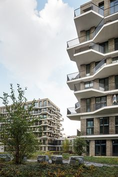 Cadiz Antwerpen • groepswoningbouw • Projecten • POLO Architects