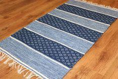 Rag rugs - Visby (blue)
