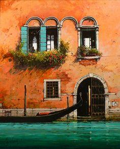 Jeremy Barlow - cannaregio facade, Venice