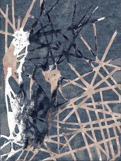 Jonas Bergkvist Number love-kaleidoscope-blue, One Love - Limited Edition Artist Rugs   Woven Accents