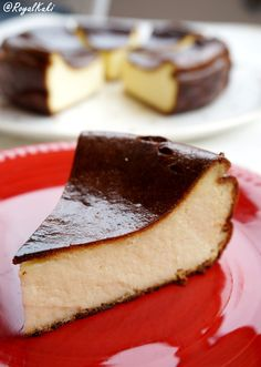 Yanık Cheesecake Tarifi (Burnt Cheesecake) - Royal Kuki