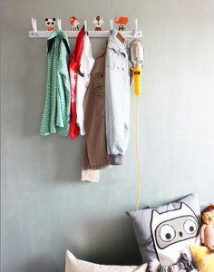 kapstokje jongenskamer Coat Racks, Coat Hanger, Adairs Kids, Hall Stand, Coat Stands, Kidsroom, Boy Room, Wardrobe Rack, Cool Kids