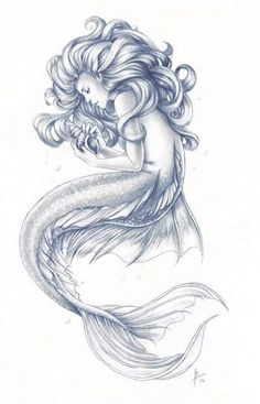 Mermaid drawings, mermaid tattoos, siren tattoo, mermaid sketch, fish d Mermaid Artwork, Mermaid Drawings, Mermaid Paintings, Realistic Mermaid Drawing, Beautiful Mermaid Drawing, Mermaid Tattoo Designs, Mermaid Tattoos, Sirene Tattoo, Art Sketches