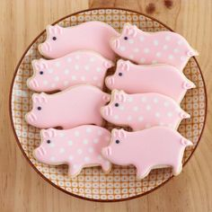 Pour un dessert thème viande : sablé en forme de cochon !