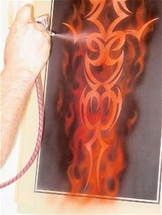 custom airbrushing tips