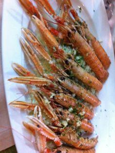 shrimps Croatia