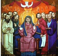 Today we celebrate Pentecost or the day when the Catholic Church was officially born in the public. In the first reading, we read the account of this coming of the Holy Spirit.