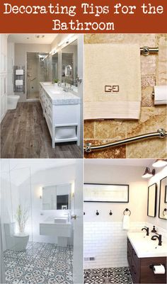 Decorating Tips for the Bathroom Beach Theme Bathroom, Bathroom Colors, Decorating Bathrooms, Decorating Tips, Towel Organization, Spa Items, Small Glass Jars, Decorated Jars, Neat And Tidy