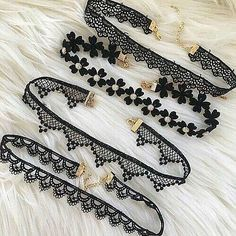 choker, fashion, and black image Outfits, Outfit Ideas, Outfit Accessories, Cute Accessories - Jewelry for everyday. High quality low prices! Made in England designer jewelry. Sterling silver