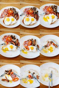 A calorie free full English breakfast!!! @Shiseido USA United Kingdom #IWISHFOR #IBUKI