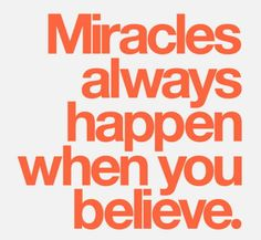 """""""There are two ways to live: you can live as if nothing is a miracle; you can live as if everything is a miracle."""" - Albert Einstein  To find yourself standing on #miracle ground first you must believe in miracles. Belief is a critical element to the unfolding of more miracles in our lives. Mustard Seed Jewelry Blog #beamountainmover #kindness #peace #encouragment"""