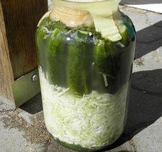 Kovászos uborka káposztával. Próbáld ki, nagyon finom! - Blikk Rúzs