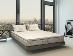 Organic Mattresses Inc. Naturals bed compresses for easy shipping