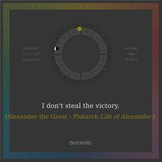 Ouranio.com | Daily quote: Alexander the Great, «Victory...»