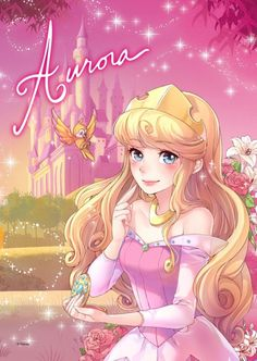 Disney Princess Aurora #disney #art http://www.keypcreative.com/