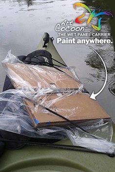 Art Cocoon | How to Use Mountain Paintings, Bridges, Gates, Landscapes, Rocks, Palette, Printing, Windows, Studio