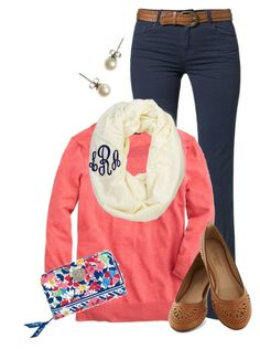 """Summer Cottage"" by qtpiekelso ❤ liked on Polyvore featuring Best Mountain, J.Crew and Vera Bradley"