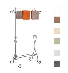 Clothing Rail ISIS Wardrobe Clothes Coat Hanging Stand Rack metal Vintage Style