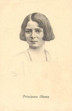 Princess Ileana of Romania Gallery / Principesa Ileana by Solmen 1922 Postcard