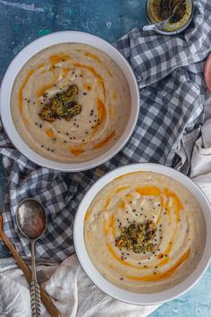 This roast cauliflower soup is made zingy and bright with the addition of preserved lemon and given an umami hit with miso. This is the perfect warming soup for winter. #thecookreport #cauliflowersoup #vegetarian Vegetarian Soup, Vegetarian Breakfast, Vegetarian Recipes Easy, Lunch Recipes, Delicious Recipes, Gourmet Recipes, Crockpot Recipes, Healthy Recipes, Cauliflower Soup