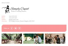 Email Signature Templates for Wedding Planners - https://emailsignaturerescue.com/email-signature-templates