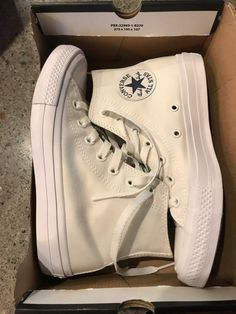 Brand new, never been worn. I'm perfect condition except the two little stains on the very top not very noticeable. Size 5 but I wear a size and they fit! These are white! All Nike Shoes, Dr Shoes, Swag Shoes, Hype Shoes, Converse Shoes, Me Too Shoes, Shoes Sneakers, Shoes Heels, Sneakers Fashion
