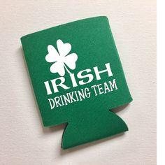 Irish Drinking Team - St. Patrick's Day Can Cooler