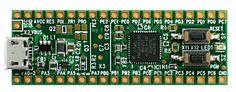 Breakout-Board with Atmel AVR xmega A4U Microprocessor - Ledato