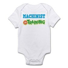 Machinist in Training Infant Bodysuit for