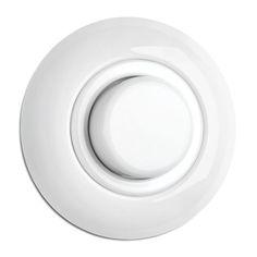 thomas hoof - porcelain dimmer knob