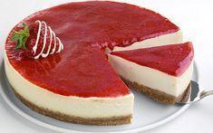 çilekli cheesecake tarifi - yapılışı