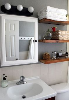 70 bathroom makeover, bathroom ideas, home decor, repurposing upcycling…