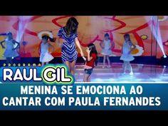 Programa Raul Gil (15/10/16) - Menina se emociona ao cantar com Paula Fernandes - YouTube Raul Gil, Youtube, Pickup Lines, Youtubers, Youtube Movies