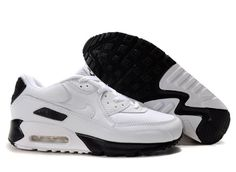 On-line store of Air Max 90 White-Black Men's Shoes for sale with free shipping., The cheapest Nike shoes outlet sale at the best price to you.