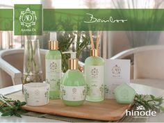 Linha Aroma DI chegou para perfumar você e sua casa de forma moderna e prazerosa  Bamboo -  Frescor  e levesa