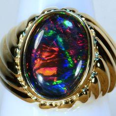 Rosecut Diamond Ring/ Gold Rosecut Pear and Rosecut Round Diamond Ring/ Contemporary Open Ring Design/ Dainty Diamond Ring - Fine Jewelry Ideas