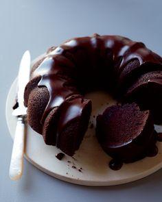 Chocolate Bundt Cake - Martha Stewart Weddings Cakes