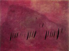Lucio Fontana -- Concetto Spaziale, Attese -- 1959