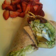 Bacon salami avocado cabbage wrap. It was delis! #rnyjourney  #keto #myway  #lowcarb #feedme by sandyloves2eatcastro