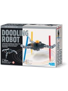 Build a robot that's an artist with this brilliant kit! With mechanical and scientific powers, doodle robot doodles a picture whilst vibrating and spinning at the same time. Science Toys, Science Fair, Build A Robot, Science Festival, Pen Doodles, Robot Kits, Create Words, Porno, Scrappy Quilts