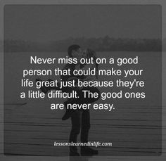 Lessons Learned in Life | The good ones.