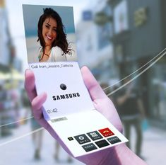 Samsung Shows Concepts For Smartphones With Flexible Displays