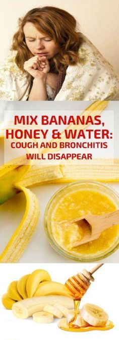 This Bronchitis Home Remedy Uses Honey And Banana To Ease Cough