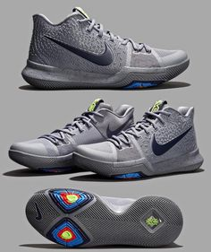 "Cop or Drop? Nike Kyrie 3 ""Cool Grey"" (via @solecollector)"