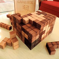 Game Box 63 Puzzle by Squad Design #MONOQI